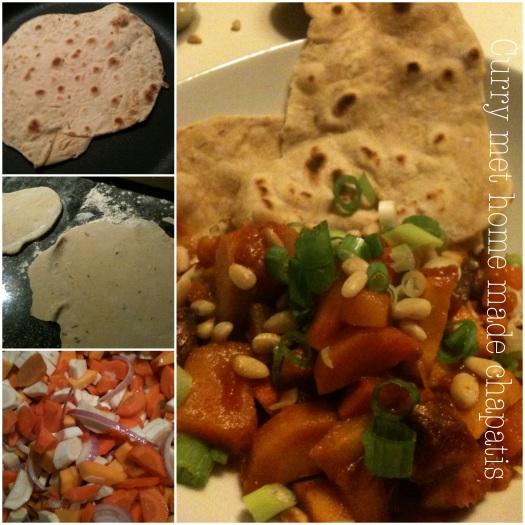 Keukengeheim, gezonde maaltijd, curry zonder kokos