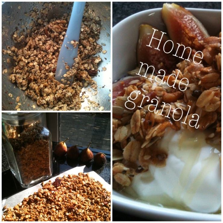 Keukengeheim home made granola