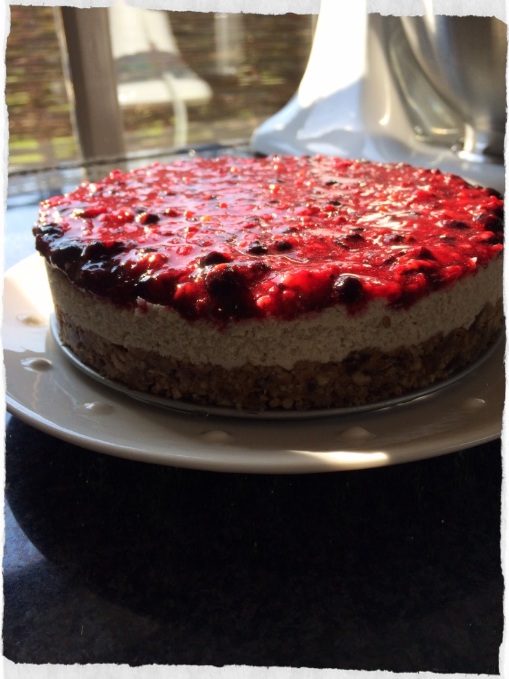 Keukengeheim vegan cheesecake