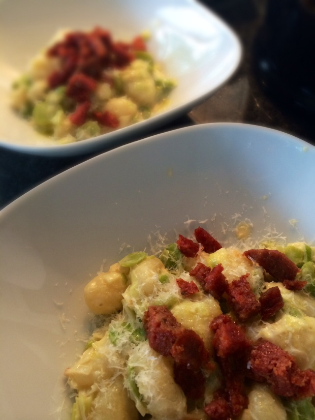 Keukengeheim gnocchi met tuinbonen