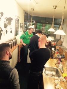 aan de slag espresso