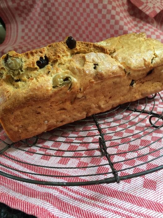 Olijven Feta Cake