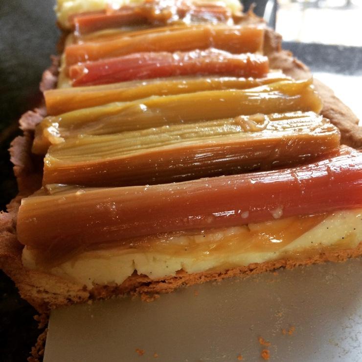 Keukengeheim rabarber taartje