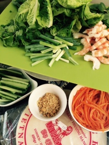 Spring rolls ingredienten