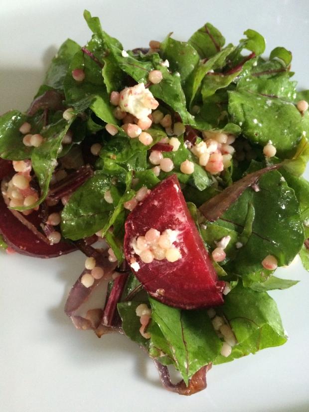 Biet fregola salade